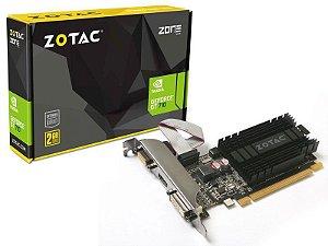 PLACA VIDEO DDR3 GT710 GEFORCE 1GB 64BITS