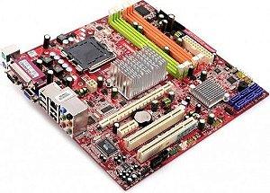 SN - PLACA MÃE 775 DDR2 MSI MS-7276 VER1.4