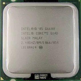 SN - PROCESSADOR 775 INTEL C2Q 2.4GHZ Q6600