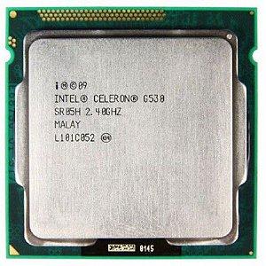 SN - PROCESSADOR 1155 INTEL CELERON G 530 2.4GHZ