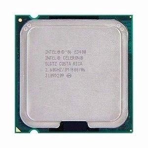 SN - PROCESSADOR 775 INTEL CELERON 2.6GHZ E3400