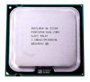 SN - PROCESSADOR 775 INTEL DC 2.5GHZ/2M/800 E5200