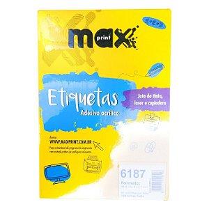 ETIQUETA 6187 MAX PRINT