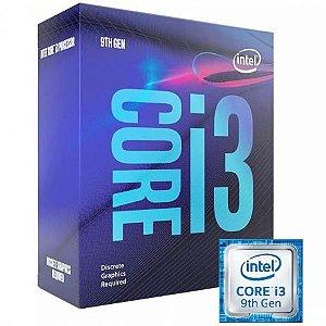 PROC. CORE I3-9100F 3.6GHZ 6MB BOX INTEL 1151