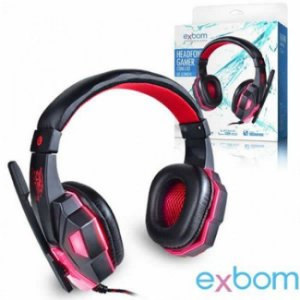 HEADPHONE GAMER USB LED HF-G390P4