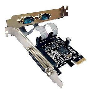SN - PLACA PCI 2 SERIAIS  + 1 PARALELA