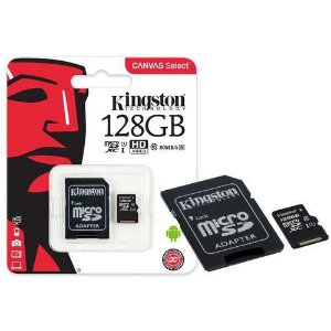 CARTÃO MEMORIA MICRO SD 128GB ULTRA KINGSTON
