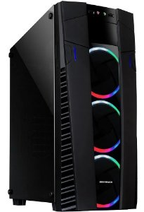 GABINETE GAMER ECLIPSE RGB 3 FANS VD TEMP