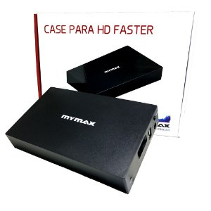 CASE HD 3,5 MYMAX USB 2.0 PRETA - P