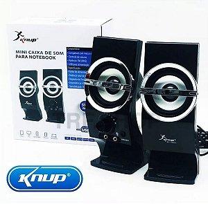 CAIXA SOM USB KP-7024 KNUP