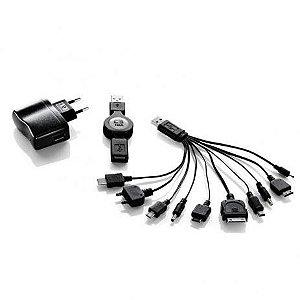 CARREGADOR MULTF USB/BIV UNO PLUS C3T - P