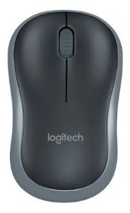 MOUSE WIRELESS MINI M185 CINZA LOGITECH