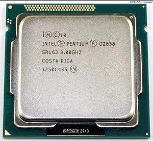 SN - PROCESSADOR 1155 INTEL PENTIUM G2030 3,0 GHZ