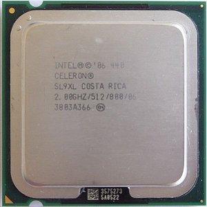 SN - PROCESSADOR 775 INTEL CELERON 2.0 GHZ 440
