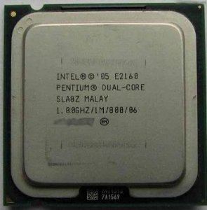 SN - PROCESSADOR 775 INTEL DUAL CORE E2160 1.8GHZ