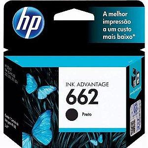 CARTUCHO 662 PRETO 2ML HP