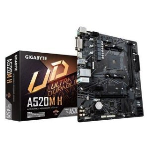 PLACA MAE AM4 GIGABYTE A520M-DS3H DDR4