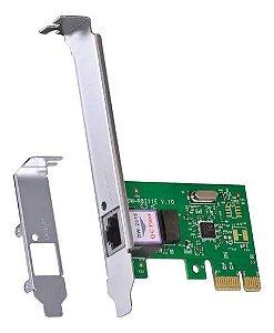 PLACA REDE PCI 100/1000MBPS REALTEK GNC-0105T