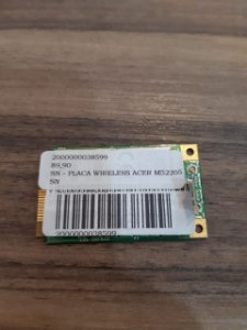 SN - PLACA WIRELESS ACER M52205
