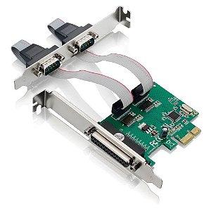 PLACA PCI 2 SERIAIS + 1 PARALELA - P