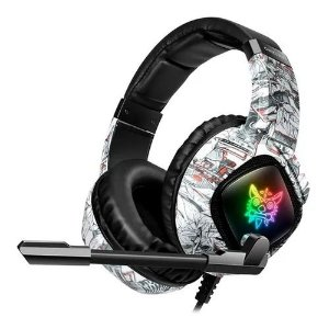 HEADSET GAMER K19 ONIKUMA BRANCO P2/USB