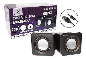 CAIXA SOM BASICA XC-CM-03 - X-CELL