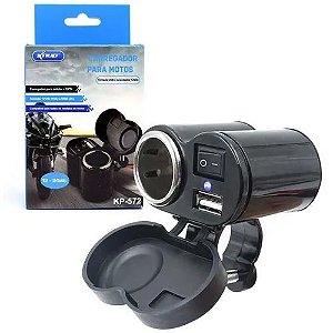 CARREGADOR USB P/ MOTO CD-3016 - KNUP