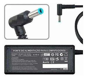 FONTE NOTEBOOK HP PINO FINO AZUL 19,5V 3.33A
