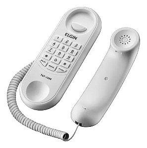 TELEFONE C/ FIO ELGIN GONDOLA TCF 100 BRANC