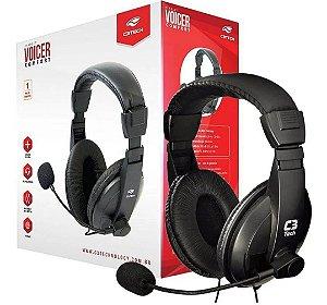 FONE C/ MIC HEADSET VOICER CONFORT P2 - C3T PH-60