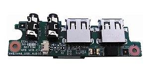 SN - PLACA USB LATERAL COM 3 ENTRADAS NOTE CCE WIN