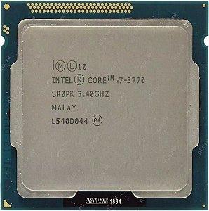 SN - PROCESSADOR 1155 INTEL I7-3770 3,4 8MB - P2