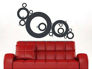 Adesivo de parede - Círculos