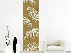 Adesivo de parede - Faixa Folhas de Palmeira