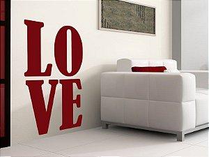 Adesivo de parede - Amor