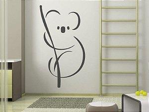 Adesivo de parede - Coala Simplificado