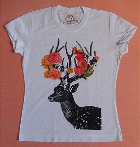 T-shirt Estampada Gazela