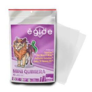 Sleeves Egide 43 x 65 MM - (MINI QUIMERA) - 100 Unidades