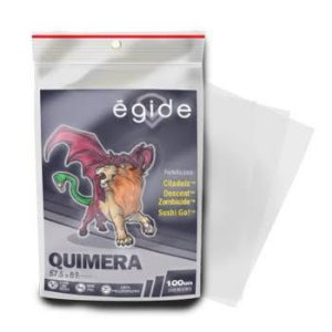 Sleeves Egide 57,5 x 89 MM - (QUIMERA) - 100 Unidades