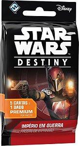Star Wars Destiny - Pacotes Individual - Império em Guerra