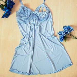 Camisola Cláudia De Amamentação Azul