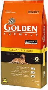 Golden Salmão & Arroz Cães Adultos 3k