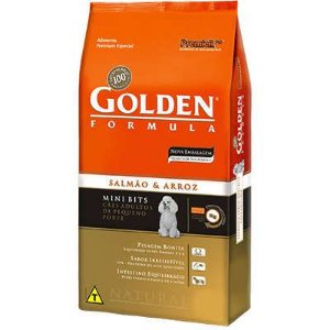 Golden Salmão & Arroz Mini Bits 3kg