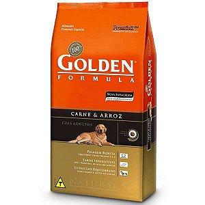 Golden Carne & Arroz Cães Adultos 15kg