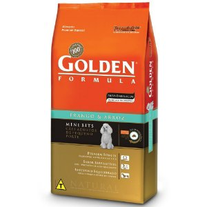Golden Frango & Arroz Cães Adultos Mini Bits 1kg