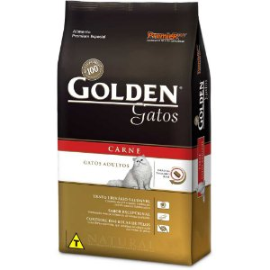Golden Gatos Adultos Carne 3kg