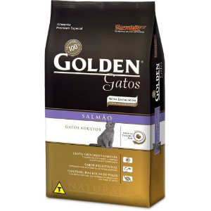 Golden Gatos Adultos Salmão 3kg