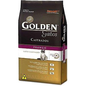 Golden Gatos Castrados Frango 1kg