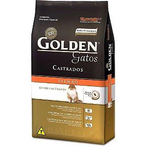 Golden Gatos Castrados Salmão 3kg