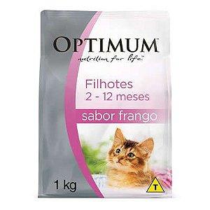 Optimum Gatos Filhotes Frango 1kg